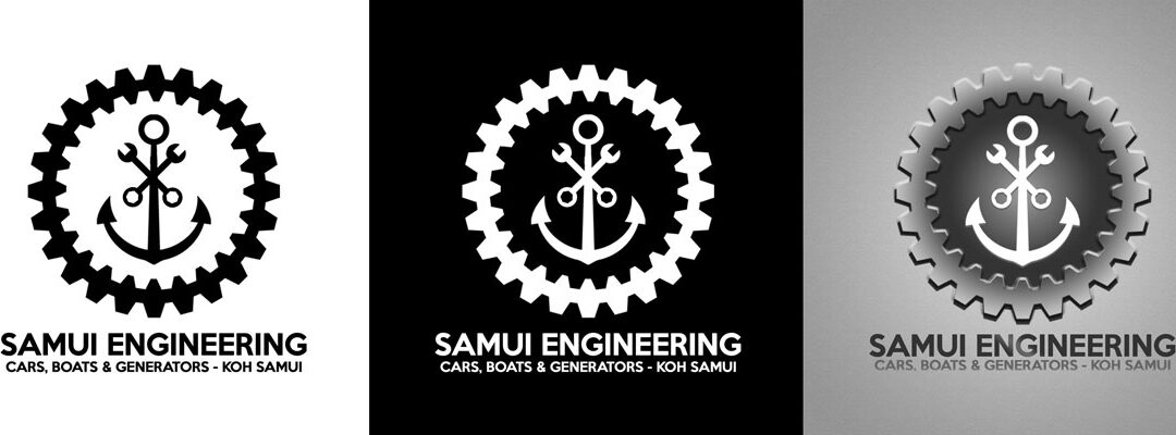Samui Engineering Logo Design 1