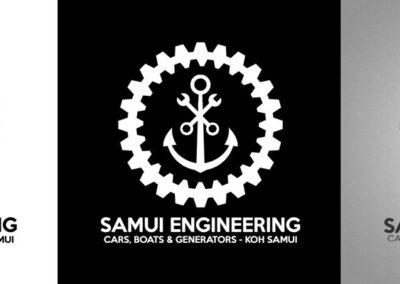 Samui Engineering Logo Design