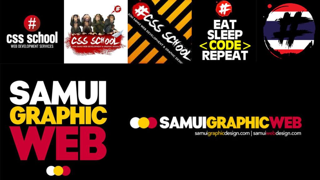 Samui Graphic Web Logo Revamp