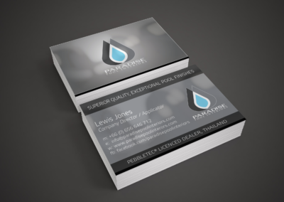Paradise Pool Interiors Business Cards Final